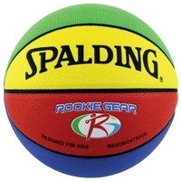 "Spalding Rookie Gear Multi-Color Youth Basketball (27.5"")"