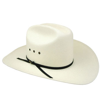 Resistol 10X L.Cattleman Natural Straw Hat