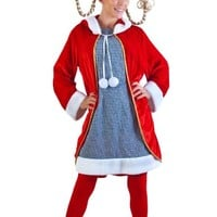 Adult Cindy Lou Who Costume (Size: Standard 8-12)
