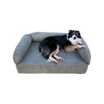 Snoozer Pet Dog Cat Puppy Indoor Comfortable Soft Quilted Luxury Memory Foam Sofa Sleeping Bed Large Olive