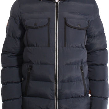 Bellfield Radon Hooded Padded Puffer Jacket