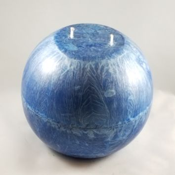 "5.9"" Dripless Natural Palm Wax Sphere Candle"