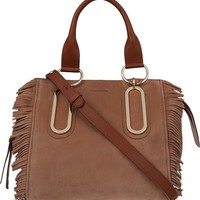 SEE BY CHLOE - Paige fringed nubuck leather shoulder bag | Selfridges.com