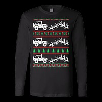 Jeep ugly christmas sweater