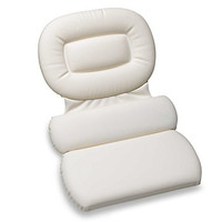 White, Three Panel Luxury Inflatable Spa Pillow - Richards Homewares