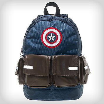 Captain America Suit Up Backpack - Spencer's