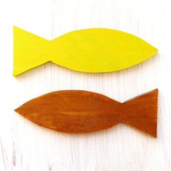 Best Wooden Fish Art Products on Wanelo