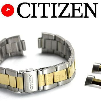 Citizen Original AN3124-53L 19mm Two-Tone Stainless Steel Watch Band Strap