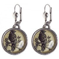 CLASSIC HARDWARE RAVEN DANGLE EARRINGS