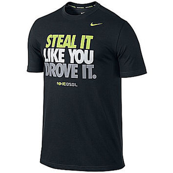 Nike Baseball Steal It Like You Drove It Tee