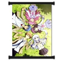 "1 X Angel Beats Anime Fabric Wall Scroll Poster (16""x22"") Inches"