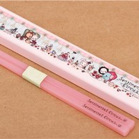 pink Sentimental Circus afternoon tea Bento Chopsticks - Cutlery - Bento Boxes