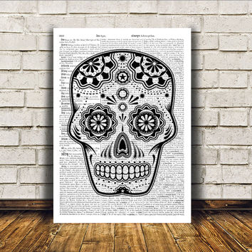 South American print Tribal art Wall decor Mexican poster RTA324
