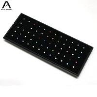 60pcs New Plugs And Tunnels Fake Piercing Mixed Lots Sexy Nose Studs Piercing+display Box Body Jewelry multicolor Crystal