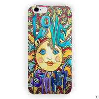 Love Shines Singleton Hippie Art For iPhone 6 / 6 Plus Case