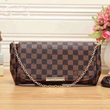 LMFON Tagre? Louis Vuitton Women Shopping Leather Satchel Shoulder Bag Handbag Crossbody G
