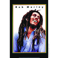 Bob Marley - Laughing Rasta Poster on Sale for $6.99 at HippieShop.com