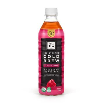 Teas' Tea Organic Black Tea with Raspberry, 16.9 fl oz (500 mL)