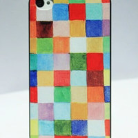 Nice Colorful Paiting Hard Cover Case For Iphone 4/4s/5