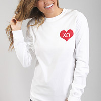 Greek Spirit Long Sleeve - Chi Omega