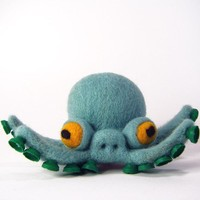 Devon the Pentapus by KitLane on Etsy
