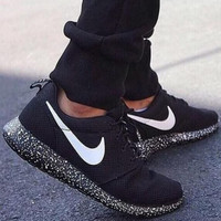 Black Running Sport Casual Shoes Sneakers
