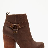Nasty Gal X Jeffrey Campbell Rum Moto Boot - Brown