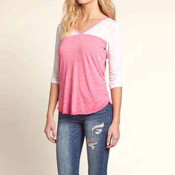Sporty Burnout T-Shirt
