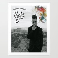 Panic! At The Disco Album Cover Art Print by marinasdiamonds
