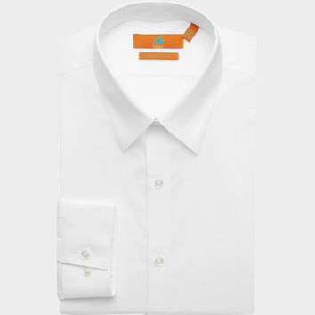 Egara White Extra Slim Fit Dress Shirt - Slim Fit | Men's Wearhouse