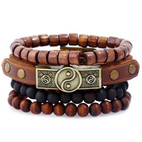 Simple Design Leather Jewelry [250988527645]