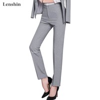 Full length professional business Formal pants women trousers