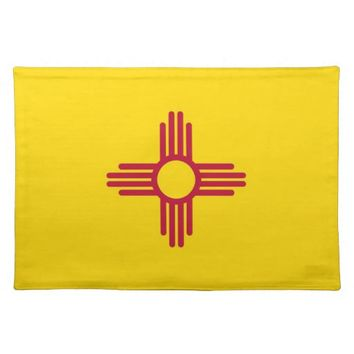 New Mexico Flag American MoJo Placemat