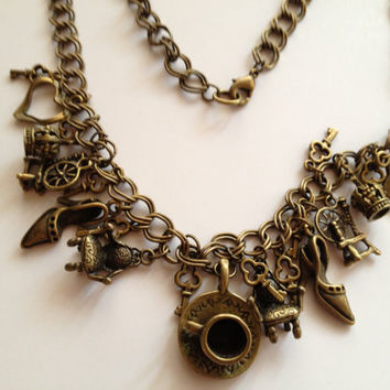 Bronze Fairy Tale Necklace