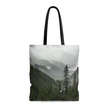 Mountain Valley Shopping Tote with Liner - 3 Sizes