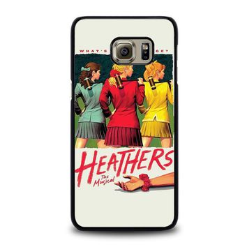heathers broadway musical samsung galaxy s6 edge plus case cover  number 1