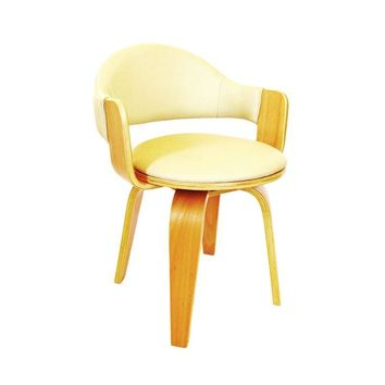Pre-owned Alvar Aalto Inspired Molded Plywood Side Chair