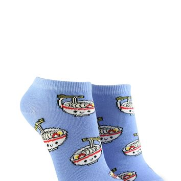 Ramen Graphic Ankle Socks