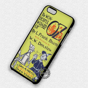 Vintage Book Wizard Of Oz - iPhone 7 6 5 SE Cases & Covers