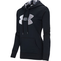 Under Armour Women's UA Storm Armour Fleece Printed Big Logo Pullover Hoodie