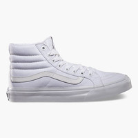 Vans Sk8 Hi Slim Womens Shoes White  In Sizes