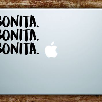 Bonita Laptop Apple Macbook Quote Wall Decal Sticker Art Vinyl Rap Music Hip Hop Underground Lyrics Applebum ATCQ Tribe Called Quest Cute