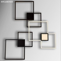 NEW Black Line LED Wall Lamps Wall Mounted Modern Wall Sconce fashion Wall Light