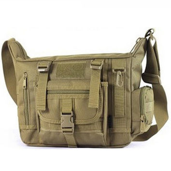 Casual Military Tactical Bag  Hiking Traveling Sport Army Messenger Bag