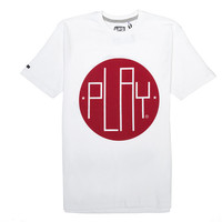 Play 077 Tee (White) – Play Cloths