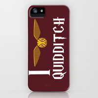 I love Quidditch iPhone & iPod Case by Danielle Podeszek
