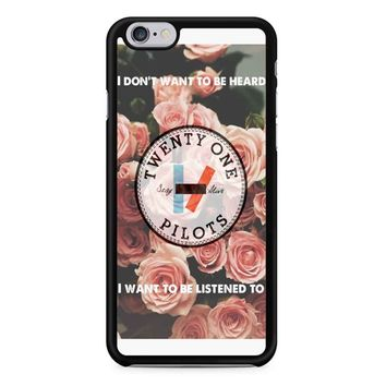 Twenty One Pilots Flowers iPhone 6/6S Case