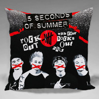 5SOS Summer of Second - Square and Regtagular Pillow Case One Side/Two Side.