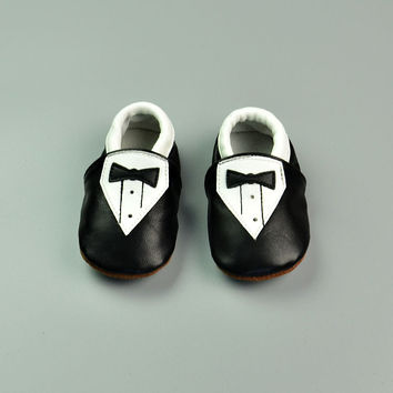 Leather Baby Infant Shoes [4919349892]