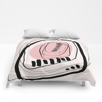 Modern minimal forms 11 Comforters by naturalcolors